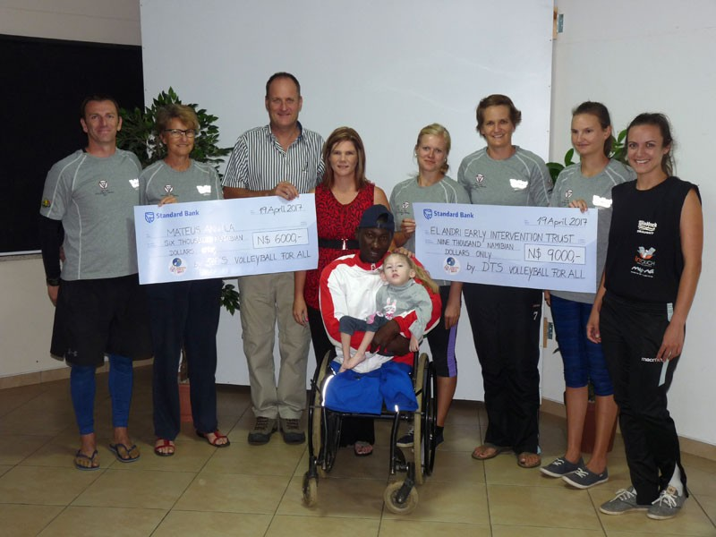DTS donates N$ 15 000,- towards Good Causes
